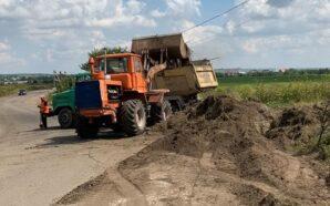 На Прикарпатті розпочали ремонт дороги Угорники – Підпечери. ФОТО