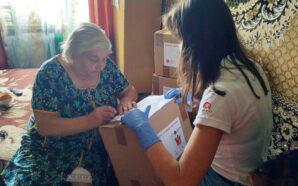 Волонтери Мальтійської служби роздали прикарпатцям майже 10 тонн допомоги. ФОТО