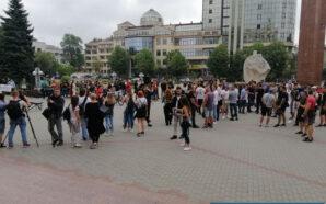 У Франківську протестують проти закриття спортклубів. ФОТО/ВІДЕО
