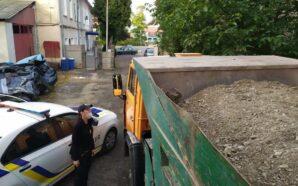 Поліцейські Івано-Франківщини викрили незаконну порубку лісу і перевезення гравію. ФОТО
