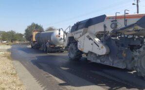 На Калущині взялися за ремонт дороги обласного значення. ФОТО