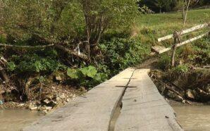 По розпиляній колоді через воду: Як живуть жителі прикарпатського села…