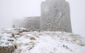 У мережі з'явилися фото засніженої гори Піп Іван
