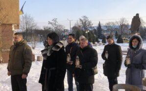 У Калуші вшанували захисників Донецького аеропорту. ФОТО