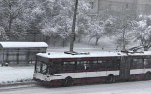 В Івано-Франківську тролейбуси на чотирьох маршрутах тимчасово не курсують