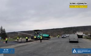 У селі Павлівка триває ремонт автодороги державного значення Н-10. ФОТО
