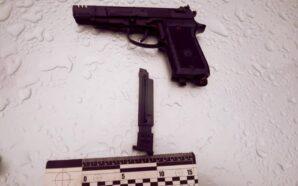 Поліцейські Івано-Франківщини затримали хулігана, який вчинив стрілянину на автозаправці. ФОТО