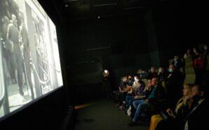 Франківцям показали фрагменти фільмів, які знімали у місті