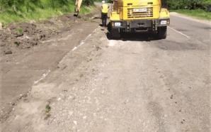 На Прикарпатті продовжують ремонтувати дороги. ФОТО