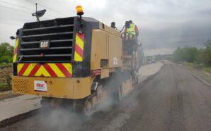 На Рогатинщині ремонтують дорогу