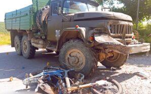 """У селі Пасічна """"ЗІЛ"""" наїхав на мотоцикл: загинуло двоє хлопців.…"""