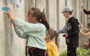 На Прикарпатті відбувся флешмоб «Живе мистецтво». ВІДЕО